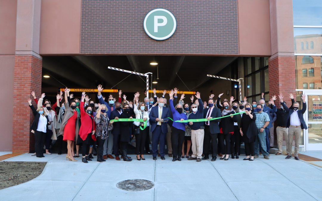 Saratoga Springs City Center Parking Garage Ribbon-Cutting Ceremony